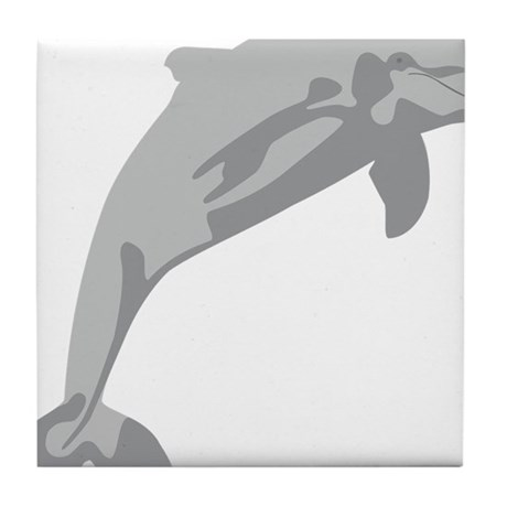 Leaping Dolphin...cheerful and charming... Tile Co