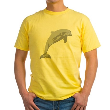 Leaping Dolphin...cheerful and charming... Yellow