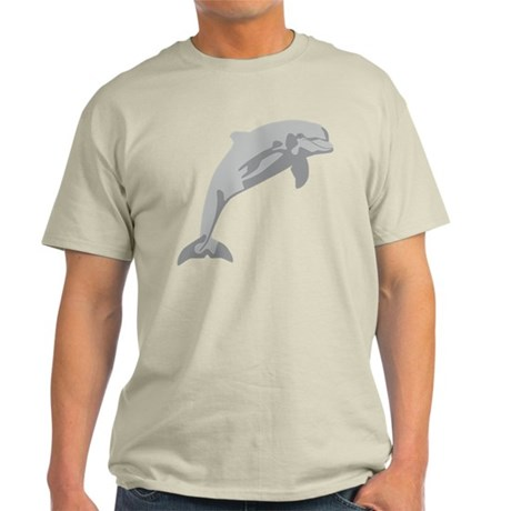Leaping Dolphin...cheerful and charming... Light T