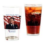 Avenge Me Drinking Glass