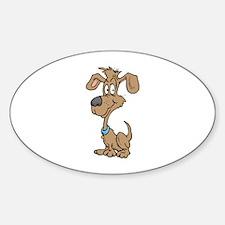 Dog Sticker (Oval)