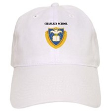 DUI - Chaplain School with Text Baseball Cap