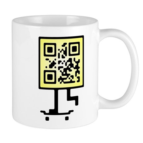 Keep on pushing qr-code Mug