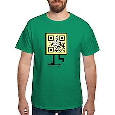 Keep on pushing qr-code T-Shirt