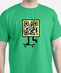 Keep on pushing qr-code T-Shirt