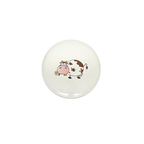 Cow Mini Button (10 pack)