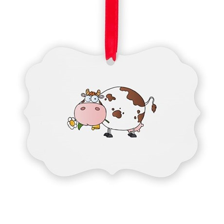 Cow Picture Ornament