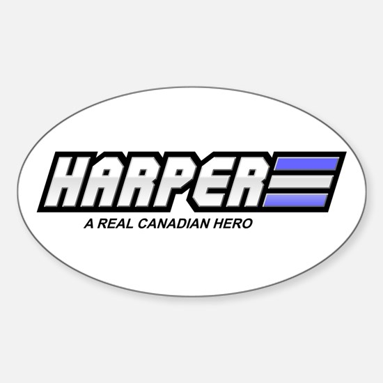 Harper Oval Decal