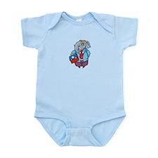 Elephant Infant Bodysuit