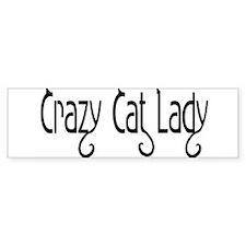 Crazy Cat Lady Bumper Bumper Sticker