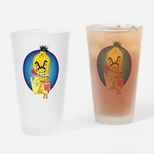 Evil Banana Drinking Glass