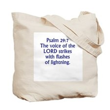 Voice of God Tote Bag