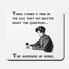 The answer is wine Mousepad