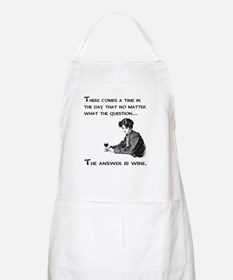 The answer is wine Apron