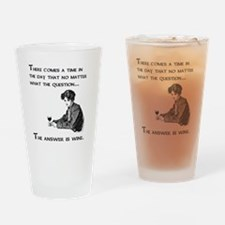 The answer is wine Drinking Glass