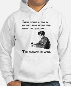 The answer is wine Hoodie