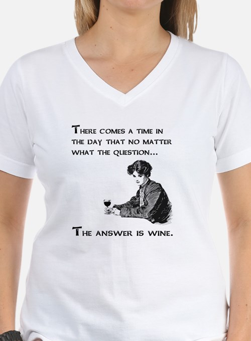 The answer is wine Shirt
