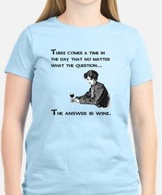 The answer is wine T-Shirt