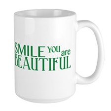 Smile you are Beautiful, Jade Mug