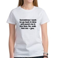 Sometimes I want to go back in time Tee