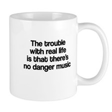 The trouble with real life Mug