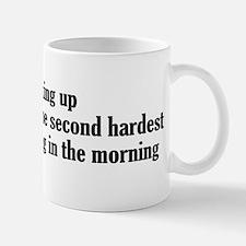 Waking up is the second hardest thing Mug
