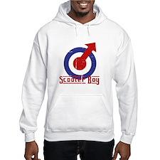 Scooterboy Target Alpha Design Hoodie