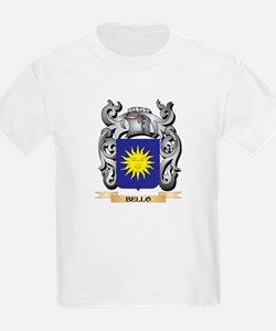 Bello Family Crest - Bello Coat of Arms T-Shirt