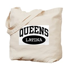 Queens Latina Tote Bag