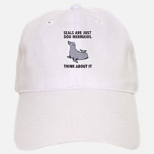 Seals are just dog mermaids. Hat