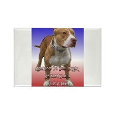 Unique English staffordshire bull terrier Rectangle Magnet
