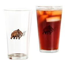 Elephant Drinking Glass