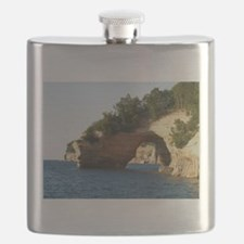 Pictured Rocks Flask
