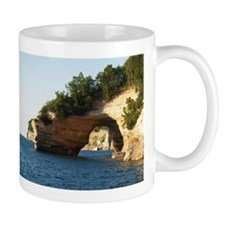 Pictured Rocks Small Mug