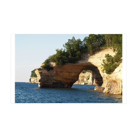 Pictured Rocks 35x21 Wall Decal