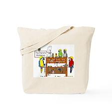 The Parrot's Workshop Logo Tote Bag