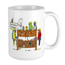 The Parrot's Workshop Logo Mug