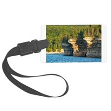 Pictured Rocks A Luggage Tag