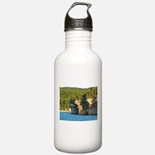Pictured Rocks A Water Bottle