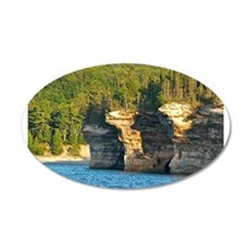 Pictured Rocks A Wall Decal