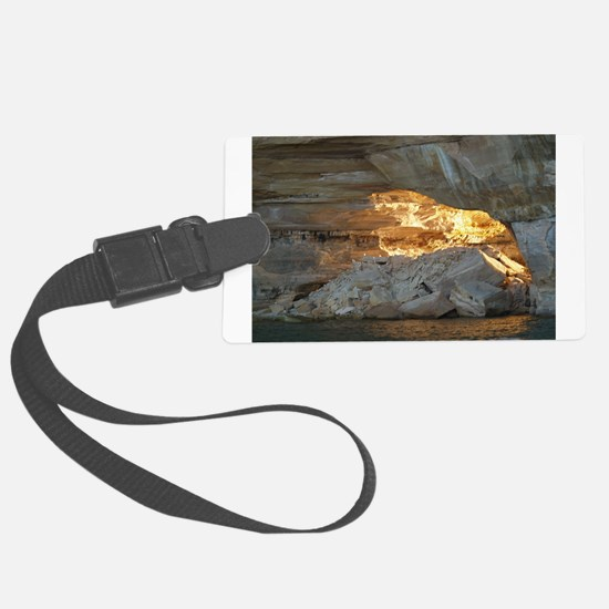 Pictured Rocks B Luggage Tag