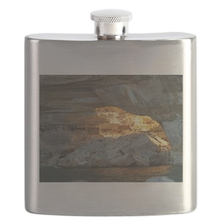 Pictured Rocks B Flask