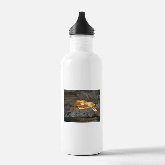 Pictured Rocks B Water Bottle