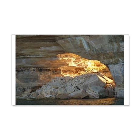 Pictured Rocks B 20x12 Wall Decal