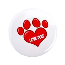 "Dog 3.5"" Button"