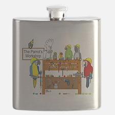 Cute Conure Flask
