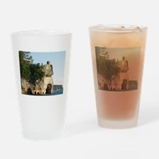 Pictured Rocks C Drinking Glass
