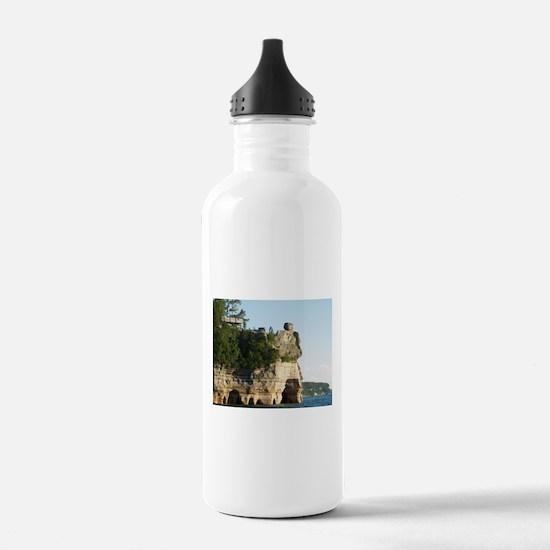 Pictured Rocks C Water Bottle