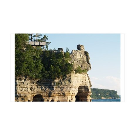 Pictured Rocks C 35x21 Wall Decal
