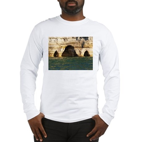 Pictured Rocks D Long Sleeve T-Shirt
